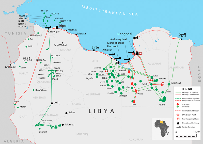 Natural Resources Found In Libya