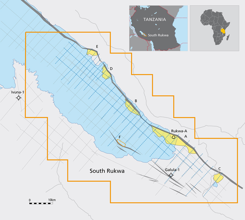 Rukwa Seismic Map